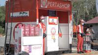Pertashop merupakan lembaga penyalur Pertamina berskala kecil, untuk melayani kebutuhan konsumen BBM. (Foto: Pertamina)