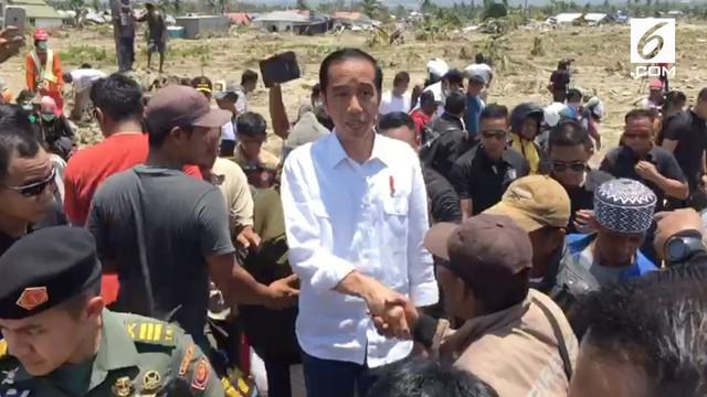 Presiden Jokowi mengakui ditawari bantuan Raja Salman untuk tangani korban gempa Palu.