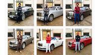 Reuben Singh melakukan Rolls Royce Turban Challenge. (Instagram @singreuben)