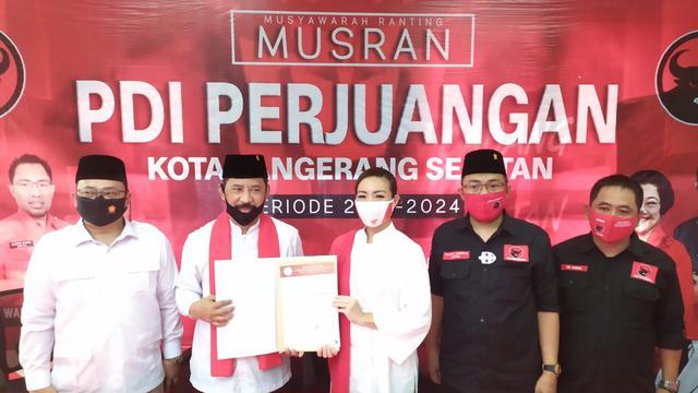 Direkomendasikan Sebagai Calon Wali Kota Tangsel Muhamad Bakal Jadi Kader Pdip Pilkada Liputan6 Com