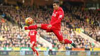 Video highlights gol kedua Firmino yang menjadi gol ketiga Liverpool dan menyamakan kedudukan menjadi 3-3 melawan Norwich City.