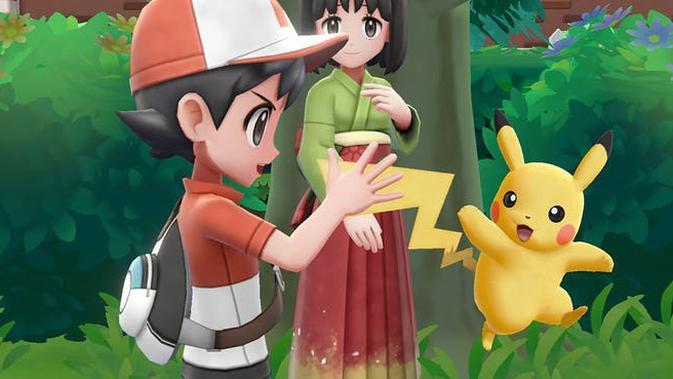 Pokemon Let's Go. (Doc: Nintendo Switch)