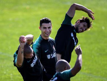 Ronaldo Cs Siap Hadapi Luksemburg di Kualifikasi Euro 2020