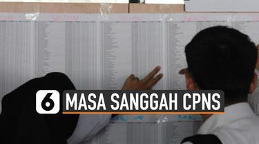 Pemerintah memberikan masa sanggah untuk seleksi CPNS 2019. Masa sanggah digunakan untuk memprotes hasil seleksi administrasi.