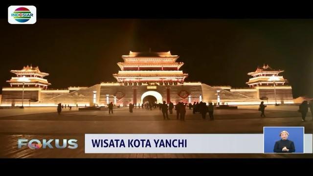 Tembok besar China tak hanya ada di Beijing tetapi juga ada di kota kecil bernama Yanchi.