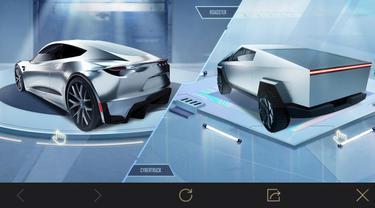 Tesla hadirkan Model Y dan Cybertruck di game PUBG Mobile terbaru