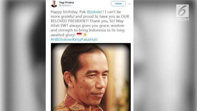 Presiden RI Joko Widodo atau karib disapa Jokowi, merayakan hari ulang tahun yang ke-57 pada hari ini, Kamis (21/6/2018).