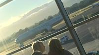 Etihad Airways EY450 yang mendarat darurat di Adelaide, Australia (TwitterMichael Milner)