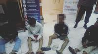 Empat pemuda diduga hendak tawuran dijaring Tim Pemburu Preman (TPP) Polres Metro Jakarta Barat.