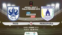 Jadwal Grup C Piala Presiden 2019, PSIS Semarang vs Persipura Jayapura. (Bola.com/Dody Iryawan)