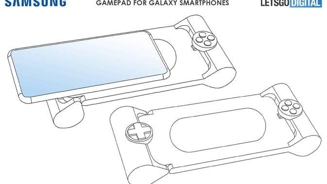 Paten Gamepad untuk smartphone Galaxy. (Doc: LetsGoDigital)