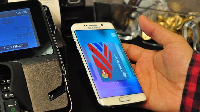Samsung Galaxy S6 Edge Plus NFC Payment