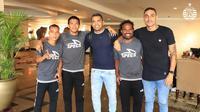 Alberto Goncalves dan Jaimerson da Silva sudah bergabung dengan skuat Persija (doc. media Persija)