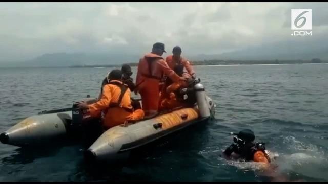Seorang wanita WNA China dilaporkan hilang saat berenang di perairan Gili Air.
