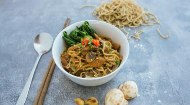 Makanan nabati sehat dari Bali (Foto: Mina Megawati)
