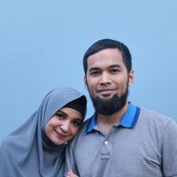 Teuku Wisnu dan Shireen Sungkar (Galih W. Satria/bintang.com)