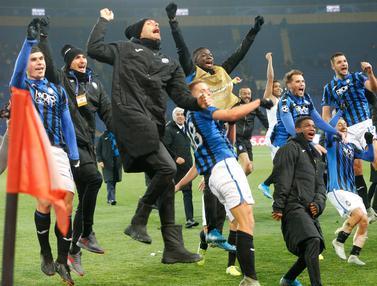 Bersejarah, Atalanta Lolos ke 16 Besar Liga Champions