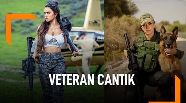 Ini Potret Veteran Cantik Pasukan Pertahanan Israel