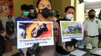Satreskrim Polresta Bogor Kota, Jawa Barat meringkus pelaku pembunuh gadis yang jasadnya ditemukan dalam kantong plastik di Bogor. (Foto:Liputan6/Achmad Sudarno)