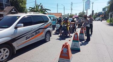 Akses Menuju Kota Cirebon Ditutup Total