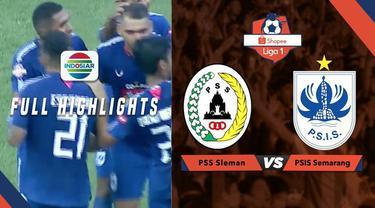 Berita video highlights seru PSS Sleman melawan PSIS Semarang dalam lanjutan Shopee Liga 1 2019, Rabu (17/7/2019).