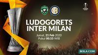 Liga Europa - Ludogorets vs Inter Milan. (Bola.com/Dody Iryawan)