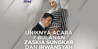 Zaskia Sungkar dan Irwansyah ungkap jenis kelamin calon anak di acara 7 bulanannya. Bagaimana info selengkapnya? Yuk, kita cek video di atas!