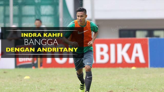 Video wawancara Indra Kahfi yang bangga dengan sang adik di Timnas Indonesia, Andritany Ardhiyasa.