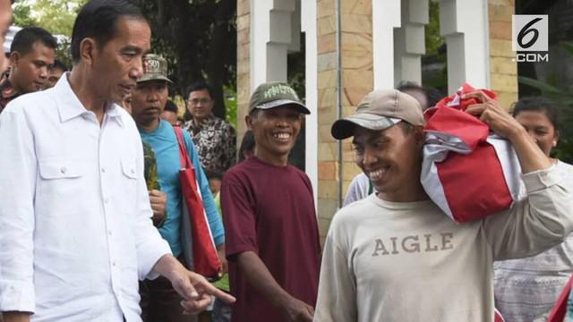 Presiden Joko Widodo atau Jokowi yang masih berada di kampung halamannya, memilih berkeliling Kota Surakarta, Jawa Tengah