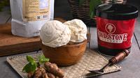 Kreasi Indonesian Heritage, Sweet Cream Ice Cream with Beras Kencur, dari Cold Stone Creamery. (dok. Ist)
