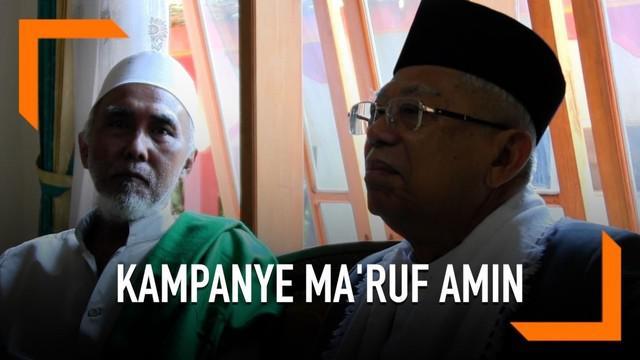 Ma'ruf Amin melanjutkan kampanye di Purworejo, Jawa Tengah. Ma'ruf mengunjungi Pondok Pesantren Al Iman Bulus dan mendapat dukungan dalam Pilpres 2019.