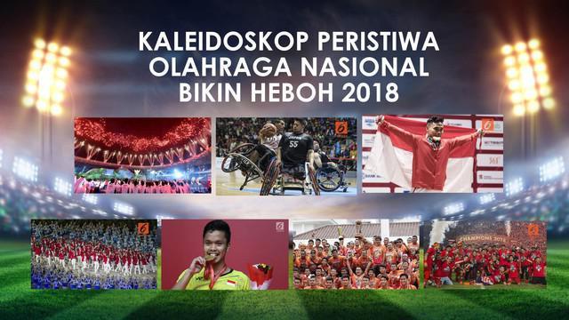 Berbagai peristiwa terjadi sepanjang tahun 2018, salah satunya pada dunia olahraga. Puncaknya saat Indonesia menjadi tuan rumah sebuah ajang bergengsi, Asian Games 2018.