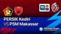 Persik Kediri vs PSM Makassar