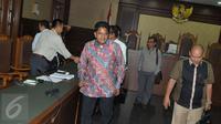 Ramapanicker Rajamohanan Nair usai sidang vonis di Pengadilan Tipikor, Jakarta, Senin (17/4). Majelis Hakim Pengadilan Tipikor Jakarta menjatuhkan vonis 3 tahun penjara dan denda Rp200 juta subsidier 5 bulan kurungan. (Liputan6.com/Helmi Afandi)