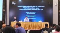 Pembekalan dan Pengikatan Komitmen Perjanjian Kerja Sama Penerima BIP di Jakarta, Selasa (10/09/2019).