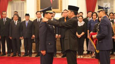 Marsekal Hadi Tjahjanto Resmi Dilantik Jadi Panglima TNI
