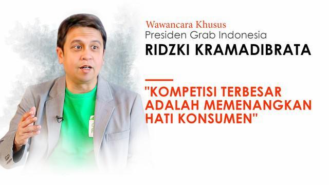 Liputan6 dotcom berkesempatan mewawancarai Presiden Grab Indonesia, Ridzki Kramadibrata. Ridzki menjawab pertanyaan seputar pertemuan dengan Presiden Joko Widodo hingga target pencapaian selanjutnya.