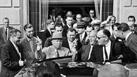 Kunjungan resmi delegasi pemerintah Soviet yang dipimpin oleh Nikita Khrushchev ke Amerika Serikat. New York, September 1959 (RBTH Indonesia/Anatoly Garanin/Sputnik)