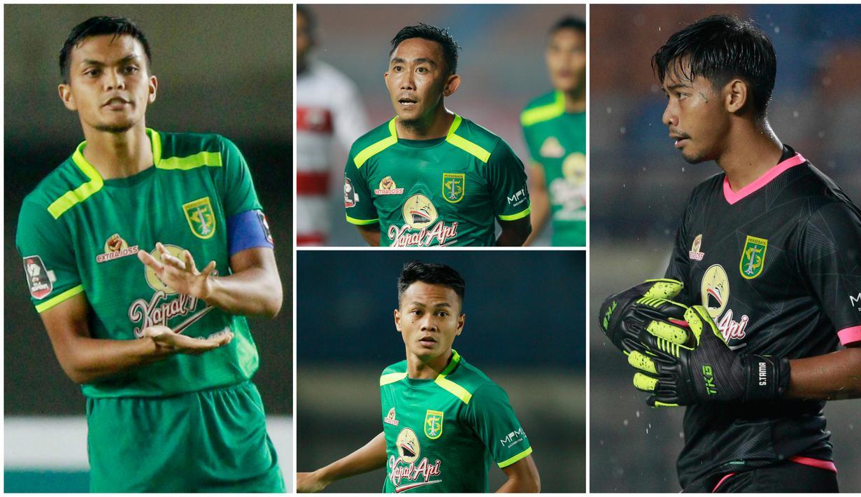 Persebaya Surabaya tak pernah henti-hentinya melahirkan pemain berbakat dan berkualitas. Berikut pemain jebolan akademi Persebaya yang saat ini memperkuat Bajul Ijo di Piala Menpora 2021.