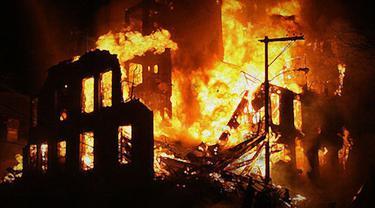 Ilustrasi Kebakaran 3 (Liputan6.com/M.Iqbal)