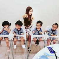Mama muda ini jadi sasaran amarah warganet. (Sumber Foto: Koreaboo)