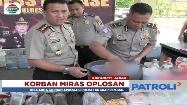 Korban jiwa kasus minuman di Sukabumi, Jawa Barat, terus bertambah. Sampai Rabu pagi, 11 April 2018, jumlah korban tewas menjadi tujuh orang.