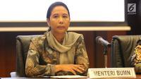 Menteri Badan Usaha Milik Negara (BUMN) Rini Soemarno. (Liputan6.com/Angga Yuniar)