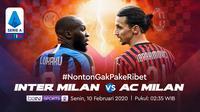Saksikan Live Streaming Derby della Madonnina, Inter Milan Vs AC Milan Hanya di Vidio. sumberfoto: Vidio