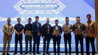 Blockchain & Fintech Southeast Asia Summit 2018. (Foto: Ist)