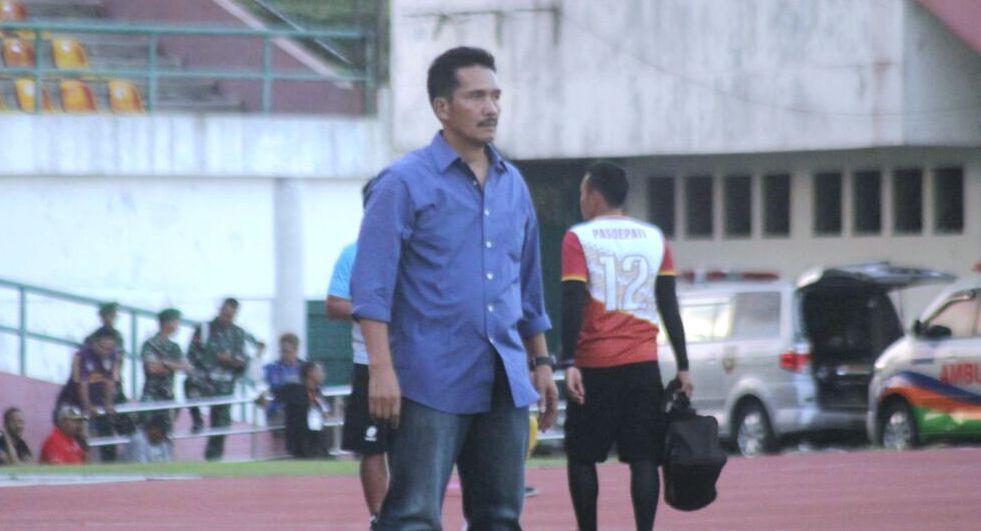 Jaya Hartono, salah satu anggota skuat Timnas Indonesia pada SEA Games 1987. (Bola.com/Ronald Seger)