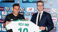 Pria berjuluk Egy Messi ini adalah pemain pertama dari Asia Tenggara yang merapat ke Lechia Gdansk. (Bola.com/M Iqbal Ichsan) (dok. Lechia Gdansk)