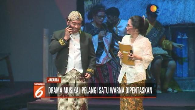 Keuskupan Agung Jakarta gelar drama musikal Pelangi Satu Warna dengan tema persatuan dan toleransi.