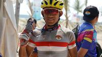 Atlet balap sepeda gunung, Zainal Fanani menjadi juara pada kejuaraan balap sepeda gunung cross country marathon (dok: Vox Populi)