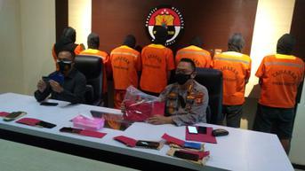 Komplotan Preman di Kutai Kartanegara Mati Kutu Usai Peras Nakhoda dan Pemilik Kapal